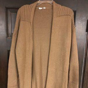 Gap oversized camel sweater